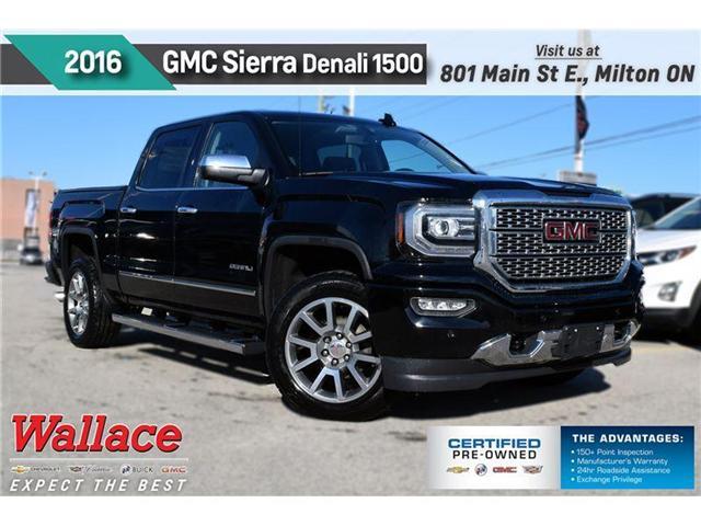 2016 GMC Sierra 1500 DENALI/20s/6' STPS/HTD&CLD STS/HTD WHL/TRANS CLR/S (Stk: 126146A) in Milton - Image 1 of 12