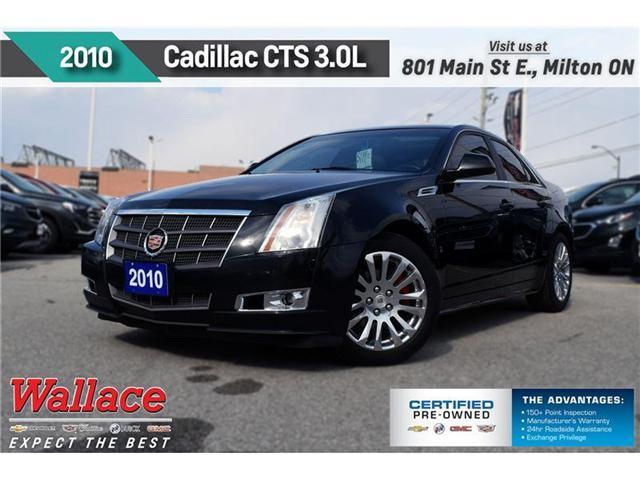 2010 Cadillac CTS 3.0L/SPORT PKG/SUNRF/LTHR/HTD SEATS/CLN HSTRY (Stk: 267735A) in Milton - Image 1 of 22