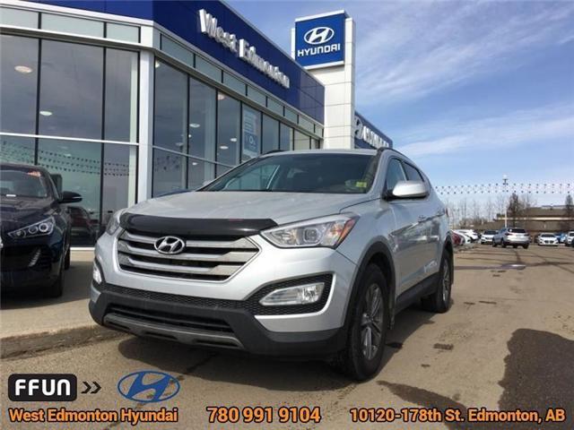 2016 Hyundai Santa Fe Sport 2.0T Premium (Stk: E3089) in Edmonton - Image 1 of 20