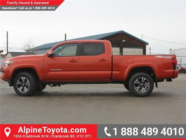 2018 Toyota Tacoma SR5 (Stk: X032960) in Cranbrook - Image 2 of 17