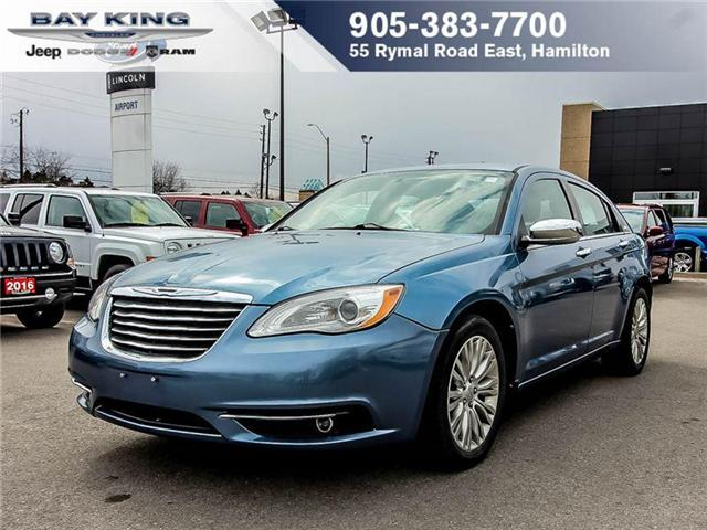 2011 Chrysler 200  (Stk: 187664A) in Hamilton - Image 1 of 10