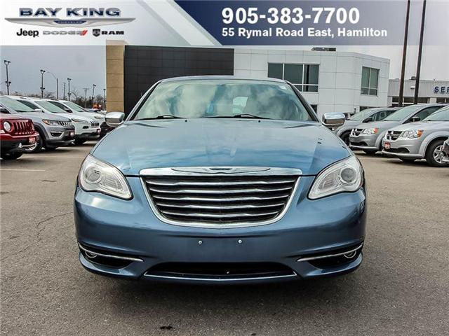 2011 Chrysler 200  (Stk: 187664A) in Hamilton - Image 2 of 10