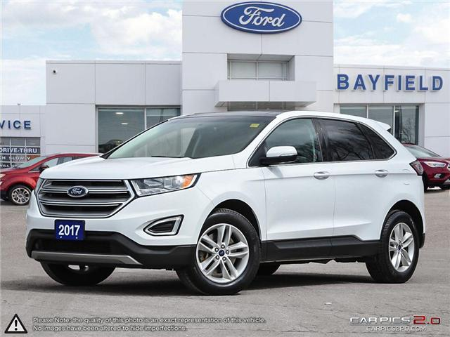 2017 Ford Edge SEL (Stk: ED18302A) in Barrie - Image 1 of 29