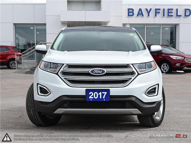 2017 Ford Edge SEL (Stk: ED18302A) in Barrie - Image 2 of 29