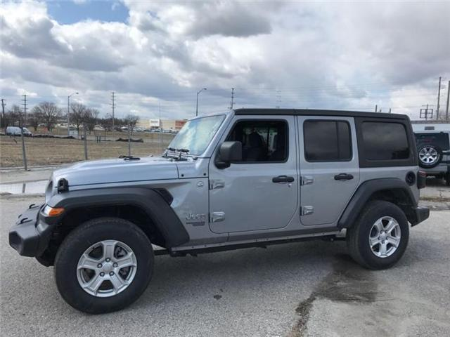 2018 Jeep Wrangler Unlimited Sport (Stk: W17664) in Newmarket - Image 2 of 20