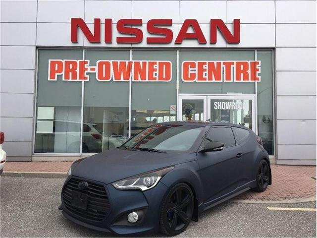 2013 Hyundai Veloster Turbo (Stk: M9572AA) in Scarborough - Image 1 of 21