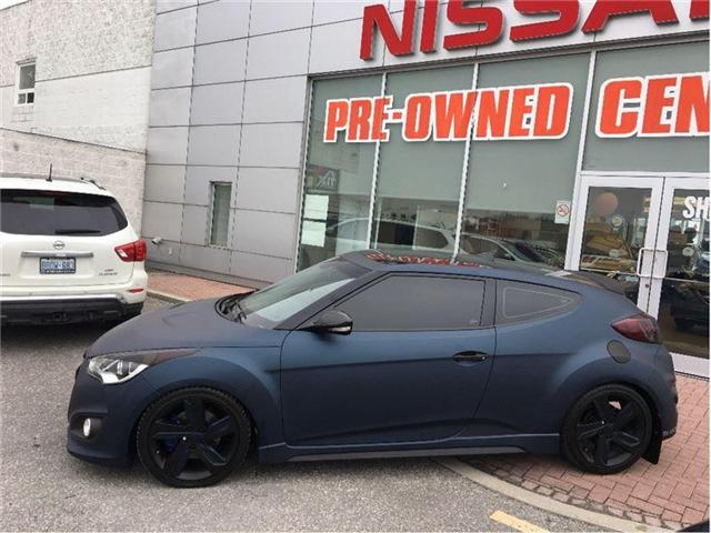 2013 Hyundai Veloster Turbo (Stk: M9572AA) in Scarborough - Image 2 of 21