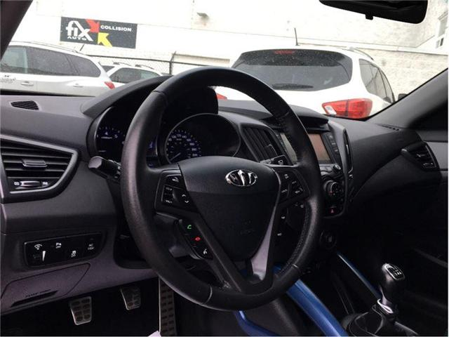 2013 Hyundai Veloster Turbo (Stk: M9572AA) in Scarborough - Image 12 of 21