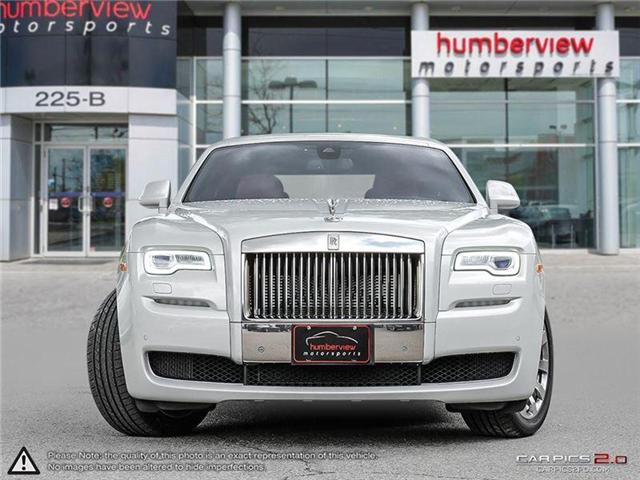 2016 Rolls-Royce Ghost | SERIES II | CAR-PROOF CLEAN | CANADIAN VEHICLE | (Stk: 18MSX1275A) in Mississauga - Image 2 of 30