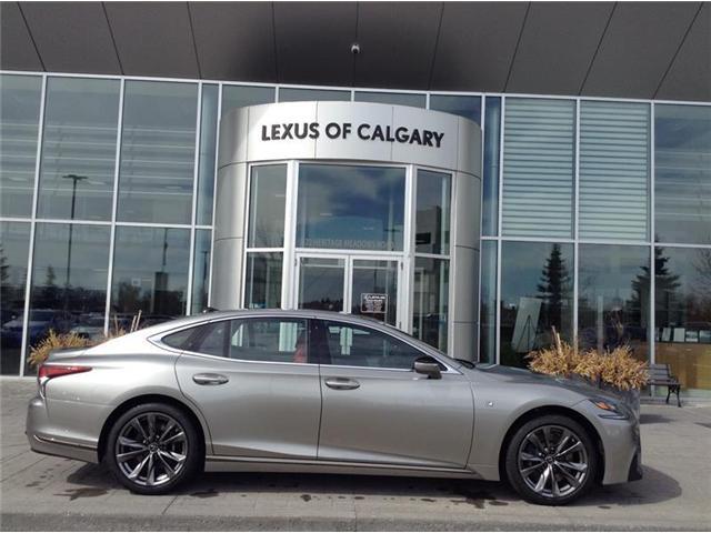 2018 Lexus LS 500 L (Stk: 180234) in Calgary - Image 1 of 4