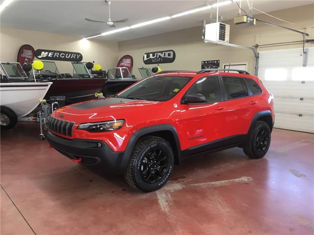 2019 Jeep Cherokee Trailhawk (Stk: T19-3) in Nipawin - Image 1 of 12