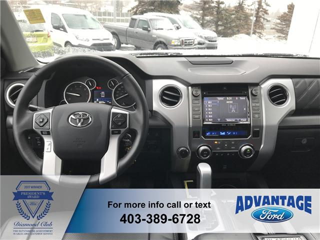 2017 Toyota Tundra Platinum 5.7L V8 (Stk: H-1182A) in Calgary - Image 2 of 10