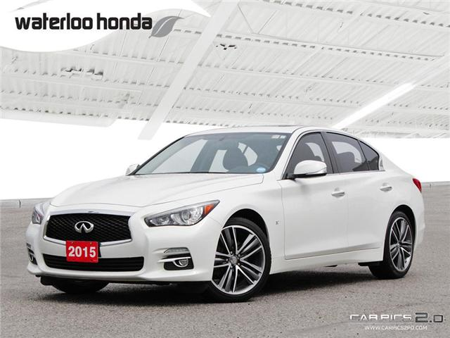 2015 Infiniti Q50 Base (Stk: U3651) in Waterloo - Image 1 of 28