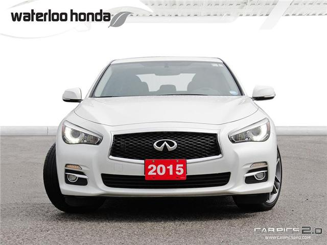 2015 Infiniti Q50 Base (Stk: U3651) in Waterloo - Image 2 of 28