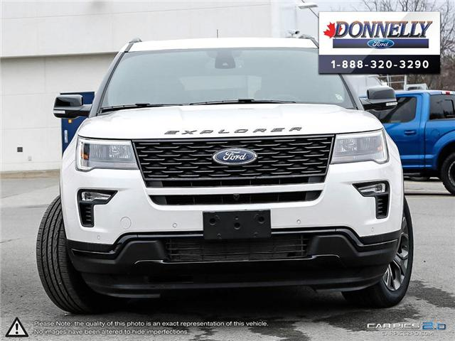 2018 Ford Explorer Sport (Stk: DR616) in Ottawa - Image 2 of 28