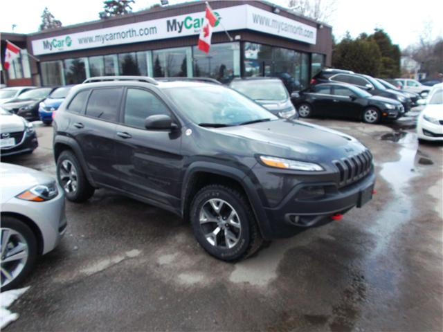 2015 Jeep Cherokee Trailhawk (Stk: 180435) in North Bay - Image 1 of 12
