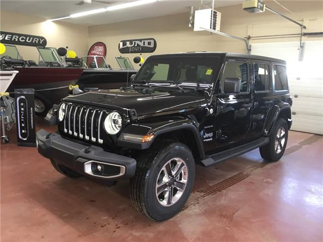 2018 Jeep Wrangler Unlimited Sahara (Stk: T18-94) in Nipawin - Image 1 of 11