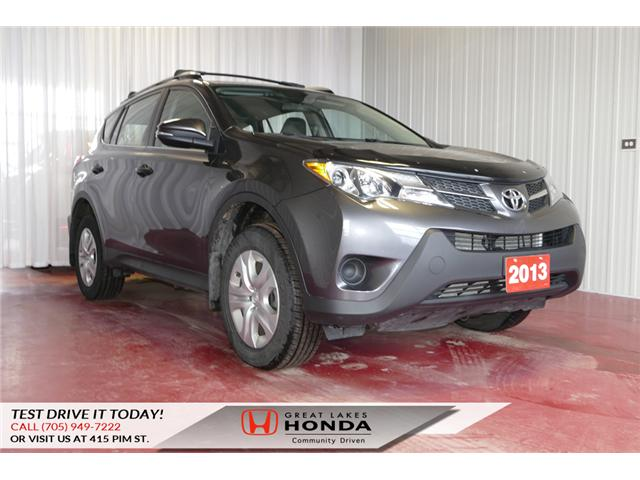 2013 Toyota RAV4 LE (Stk: H5863A) in Sault Ste. Marie - Image 1 of 19
