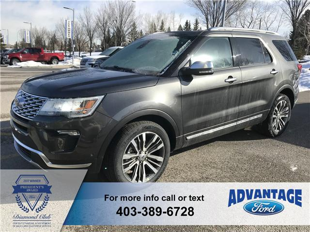 2018 Ford Explorer Platinum (Stk: J-381) in Calgary - Image 1 of 6