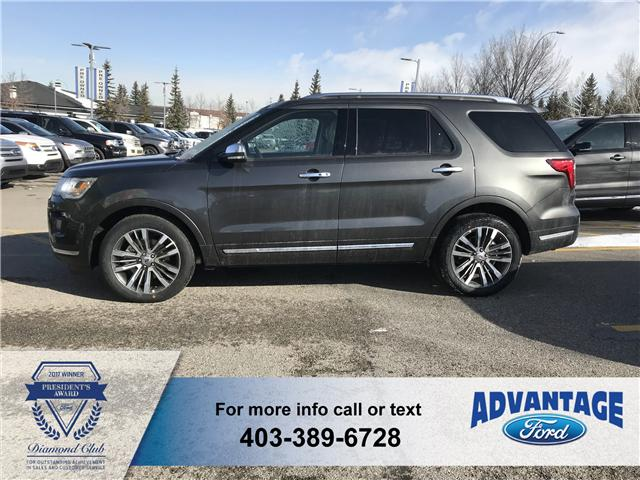 2018 Ford Explorer Platinum (Stk: J-381) in Calgary - Image 2 of 6