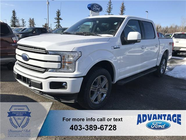 2018 Ford F-150 Lariat (Stk: J-643) in Calgary - Image 1 of 5