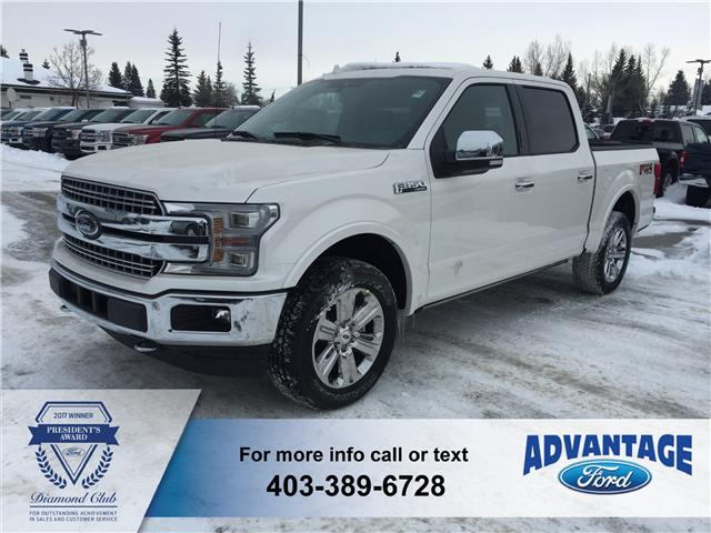 2018 Ford F-150 Lariat (Stk: J-106) in Calgary - Image 1 of 5