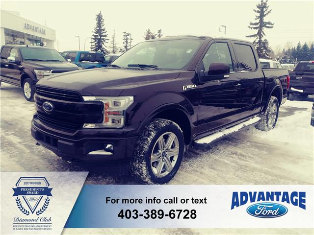 2018 Ford F-150 Lariat (Stk: J-385) in Calgary - Image 1 of 5