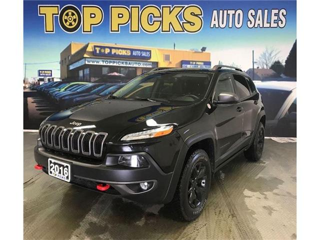 2016 Jeep Cherokee Trailhawk (Stk: 356528) in NORTH BAY - Image 1 of 20