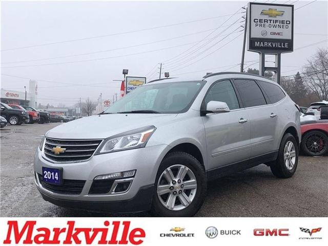 2014 Chevrolet Traverse AWD -LT-GM CERTIFIED PRE-OWNED-1 OWNER TRADE (Stk: 129372A) in Markham - Image 1 of 20