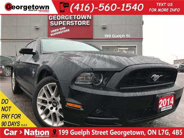 2014 Ford Mustang Premium | LEATHER | HEATED SEATS | 3.7L V6 | (Stk: P10844) in Georgetown - Image 1 of 24