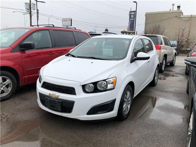 2014 Chevrolet Sonic LT Auto (Stk: 27003) in Georgetown - Image 1 of 3