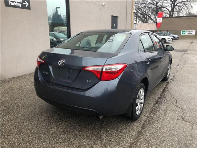 2015 Toyota Corolla LE (Stk: 15217A) in Toronto - Image 8 of 9