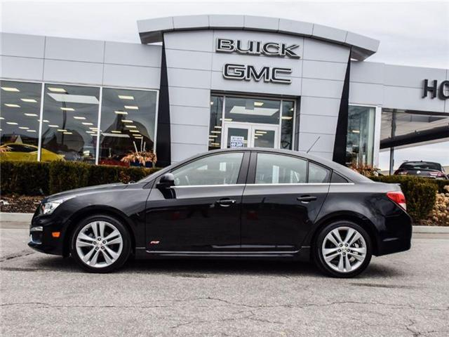 2016 Chevrolet Cruze Limited 2LT (Stk: A190582) in Scarborough - Image 2 of 27
