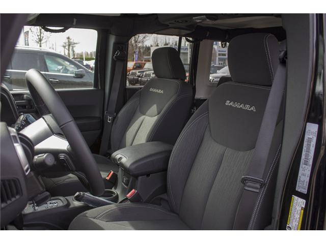 2018 Jeep Wrangler JK Unlimited Sahara (Stk: J863951) in Abbotsford - Image 10 of 20