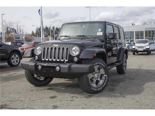 2018 Jeep Wrangler JK Unlimited Sahara (Stk: J863956) in Abbotsford - Image 3 of 22
