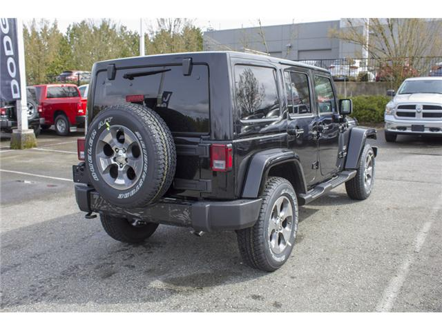 2018 Jeep Wrangler JK Unlimited Sahara (Stk: J863956) in Abbotsford - Image 7 of 22
