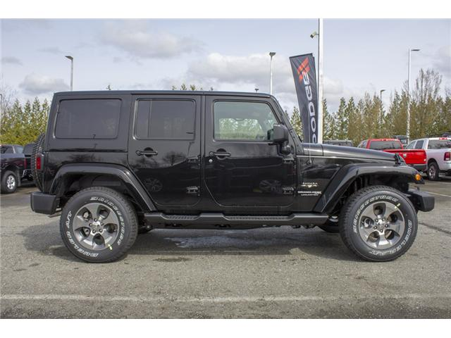 2018 Jeep Wrangler JK Unlimited Sahara (Stk: J863956) in Abbotsford - Image 8 of 22