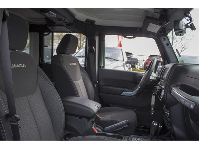 2018 Jeep Wrangler JK Unlimited Sahara (Stk: J863956) in Abbotsford - Image 22 of 22