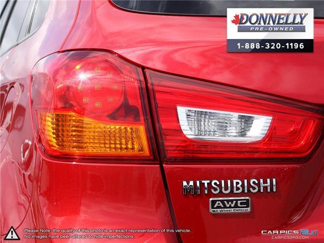 2017 Mitsubishi RVR SE Limited Edition (Stk: MUR881) in Kanata - Image 12 of 27