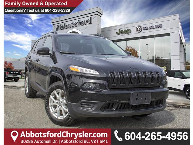 2018 Jeep Cherokee Sport (Stk: J517534) in Abbotsford - Image 1 of 24