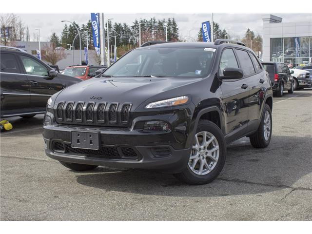 2018 Jeep Cherokee Sport (Stk: J517534) in Abbotsford - Image 3 of 24