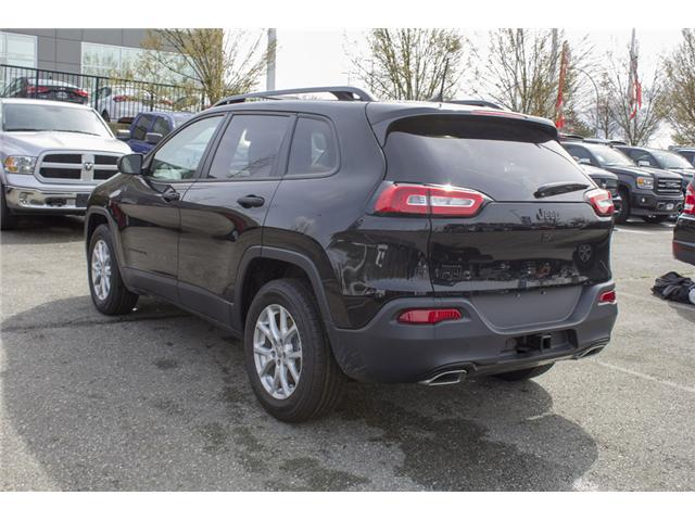 2018 Jeep Cherokee Sport (Stk: J517534) in Abbotsford - Image 5 of 24