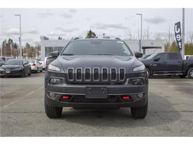 2018 Jeep Cherokee Trailhawk (Stk: J581420) in Abbotsford - Image 2 of 25