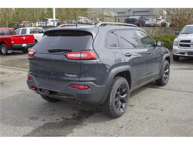 2018 Jeep Cherokee Trailhawk (Stk: J581420) in Abbotsford - Image 7 of 25