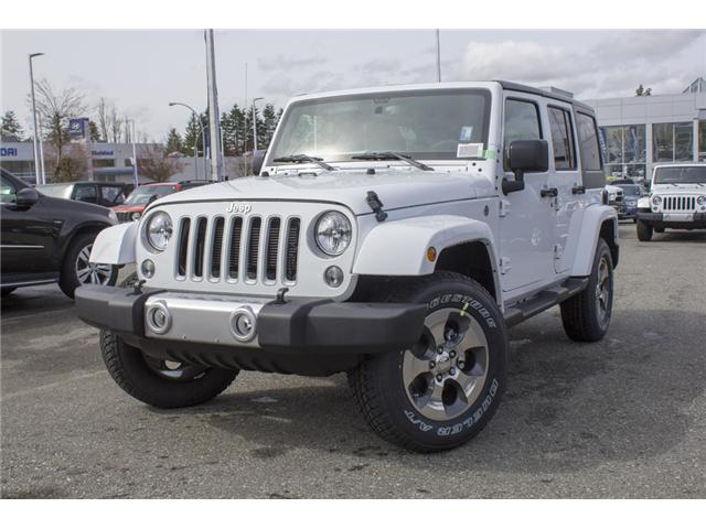 2018 Jeep Wrangler JK Unlimited Sahara (Stk: J863976) in Abbotsford - Image 3 of 20