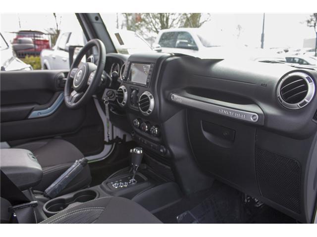 2018 Jeep Wrangler JK Unlimited Sahara (Stk: J863976) in Abbotsford - Image 19 of 20
