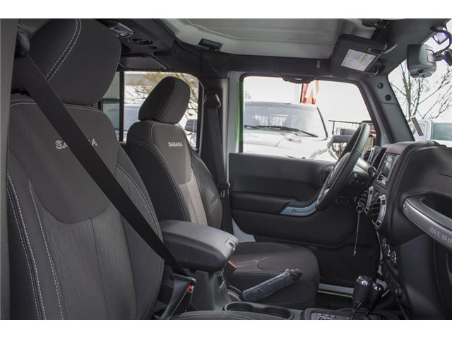 2018 Jeep Wrangler JK Unlimited Sahara (Stk: J863976) in Abbotsford - Image 20 of 20
