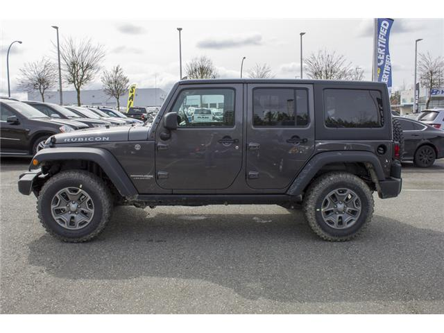 2018 Jeep Wrangler JK Unlimited Rubicon (Stk: J851909) in Abbotsford - Image 4 of 20