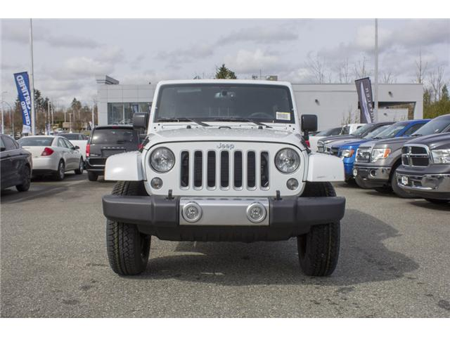 2018 Jeep Wrangler JK Unlimited Sahara (Stk: J863961) in Abbotsford - Image 2 of 21