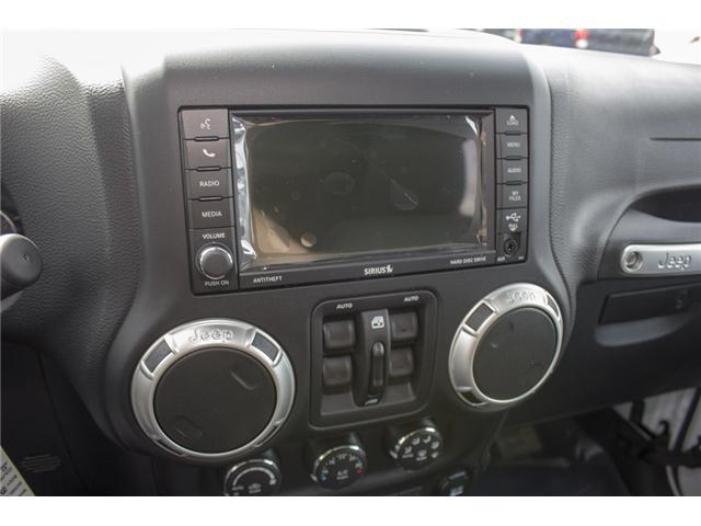 2018 Jeep Wrangler JK Unlimited Sahara (Stk: J863961) in Abbotsford - Image 12 of 21